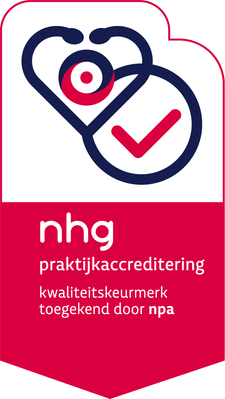 Accredited by the Dutch College of General Practitioners (NHG)